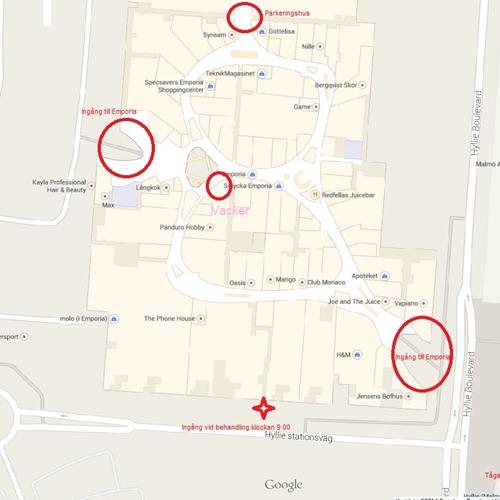 emporia karta Vacker Emporia, Malmö, Emporia – Bokadirekt emporia karta